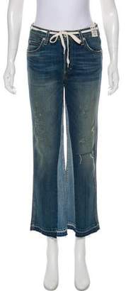 Amo Babe Mid-Rise Wide Jeans w/ Tags