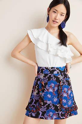 Anna Sui Jacquard Mini Skirt
