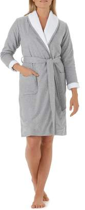 The White Company Double Face Jersey Robe
