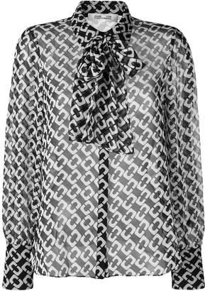 Diane von Furstenberg longsleeved loose blouse
