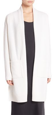 Vince Side Slit Cardigan $385 thestylecure.com