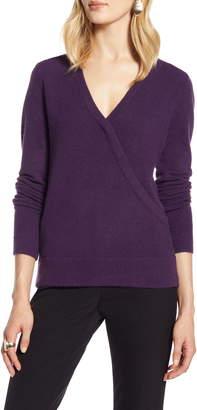Halogen Surplice Sweater