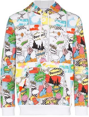Comme des Garcons Comic Book print hoodie
