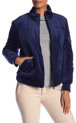 Laundry by Shelli Segal Velour Jacket