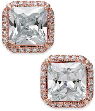 Kate Spade Crystal Square Stud Earrings