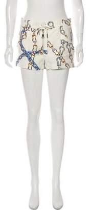 Louis Vuitton Chain Print Mini Shorts