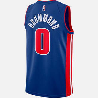 Nike Men's Detroit Pistons NBA Andre Drummond Icon Edition Connected Jersey