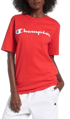 Women's Champion Crewneck Tee $20 thestylecure.com