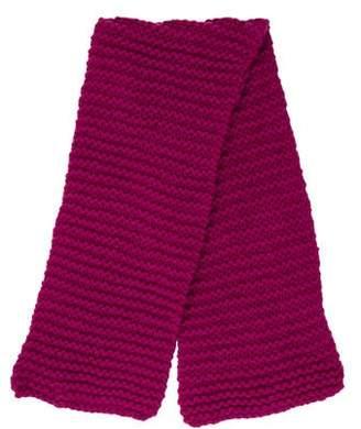 Stella McCartney Girls' Wool Cable Knit Scarf