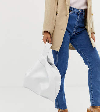 Hill & Friends Hill and Friends Happy Shopper leather bag in white