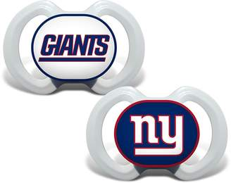 Baby Fanatic New York Giants Blue Infant Pacifier Set - 2014 NFL Baby Pacifiers
