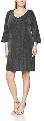Evans Women's Sparkle Floral Dress