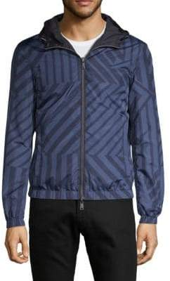 Emporio Armani Reversible Hooded Zip-Up Jacket