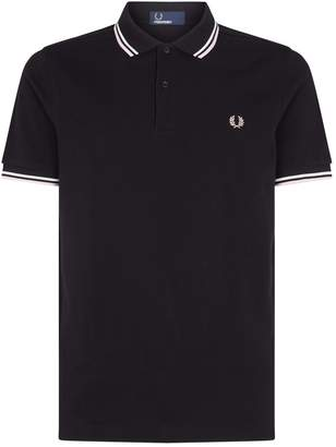 Fred Perry Pastel Tipped Polo Shirt