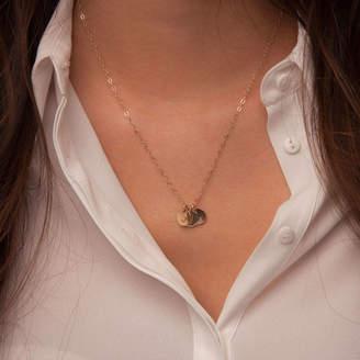 Lulu + Belle Gold Initials Necklace