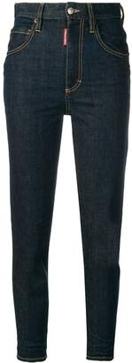 DSQUARED2 slim high-waisted jeans