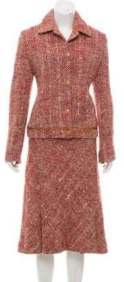 Max Mara Tweed Skirt Suit
