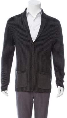 John Varvatos Shawl Collar Button-Up Cardigan