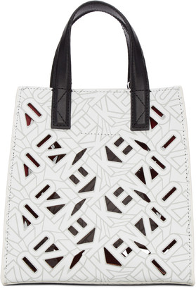 Kenzo White Flying Logo Tote $360 thestylecure.com