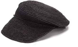 Sensi STUDIO Crochet straw cap