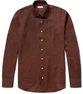 P. Johnson Slub Linen Shirt