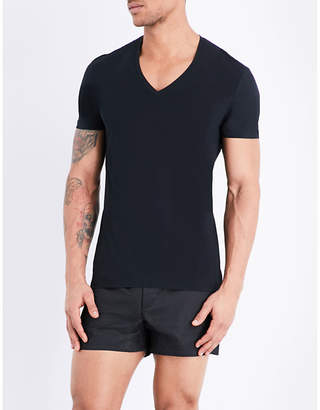La Perla Seamless v-neck t-shirt