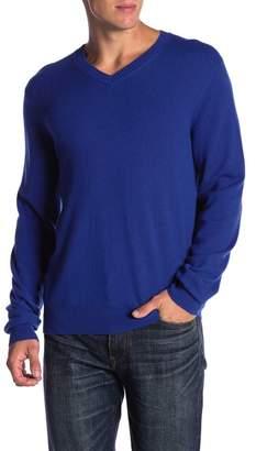 MICHAELS SWIMWEAR Cashmere V-Neck Sweater