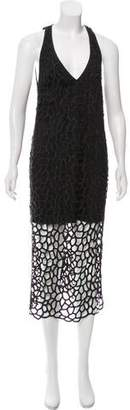 Camilla And Marc Guipure Lace Midi Dress