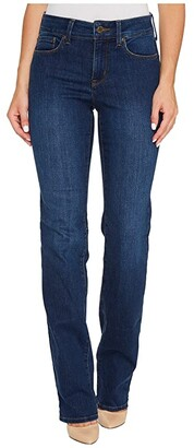 NYDJ Marilyn Straight Jeans in Cooper