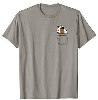 Guinea Pig In Pocket Funny T Shirt
