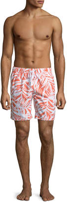 "Onia Charles 7"" Bermuda Palm Swim Shorts"
