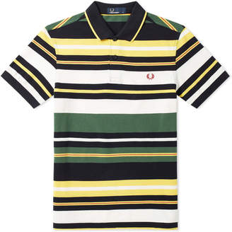 Fred Perry Authentic Bold Stripe Polo