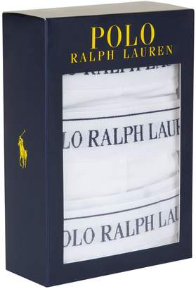 Polo Ralph Lauren Classic Logo Trunks (3-Pack)