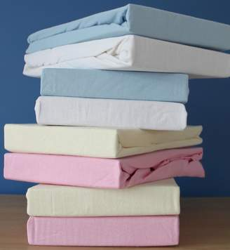 Dudu N Girlie Cotton Jersey Cot Bed Fitted Sheets 70x140 cm 2-Piece