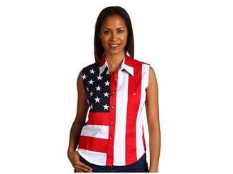 Scully Sleeveless Patriot Shirt