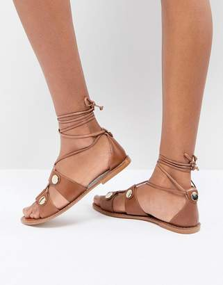 Kurt Geiger London Marci leather gladiator sandals