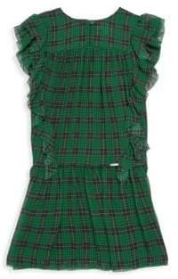 Burberry Little Girl's& Girl's Lallie Silk Dress