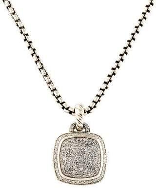 David Yurman Diamond Albion Pendant Necklace