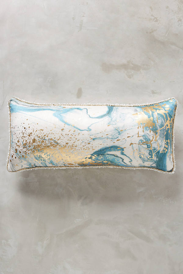 Anthropologie Anthropologie Marbled Cosima Pillow