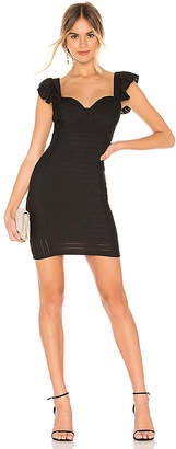 BCBGeneration Ruffle Bodycon Dress