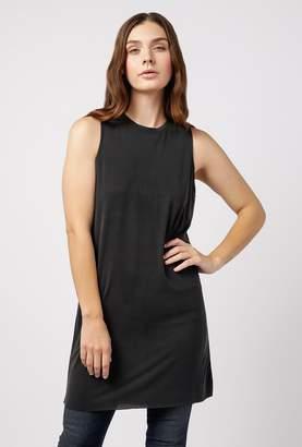 Azalea Muscle Raw Edge Cut Dress