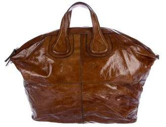 Givenchy Patent Leather Nightingale Satchel