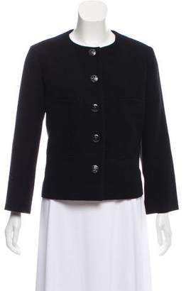 Chanel Wool Button-Up Jacket