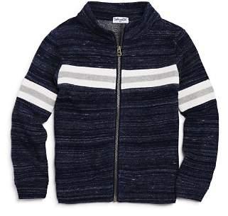 Splendid Boys' Striped Zip-Up Sweater - Little Kid