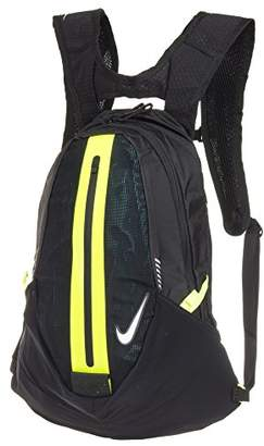 Nike NRI00054NS, Unisex Adults' Backpack, Multicolour (Bla/Volt), 36x24x45 cm (W x H L)