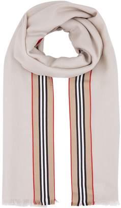 Burberry Cashmere Icon Stripe Scarf