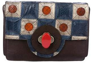 Maliparmi Pattina Geometric Crossbody Bag