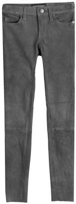 Current/Elliott Suede Skinny Pants