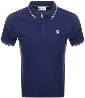 Fila Vintage Matcho 4 Polo T Shirt Navy