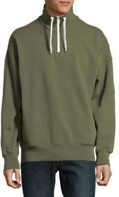 HUGO BOSS Knit Half-Zip Pullover